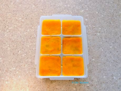 こうして冷凍しておけば、いろいろなメニューで活躍します