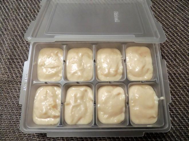 ホワイトソースも小分け冷凍
