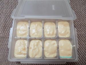 ホワイトソースも小分け冷凍(レシピリンク)